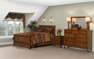 Amish-made bedroom furniture