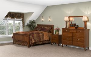 Amish-made bedroom furniture